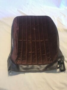 Chevrolet Monte Carlo ss maroon Front Seat Cover PUI passenger bucket seat upper