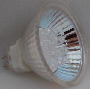 5 pcs. MR16 LED 1W 12V G5.3 AC/DC Warm White Flood Lamp Wide Beam Light Bulb
