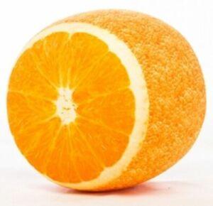 Sitzpuff Pouf Sitzpouf Luftsitzkissen Sitzkissen Kinder Orange Надувной пуфик