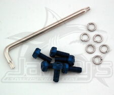 Two Brothers Racing Blue Torx Screw Kit 005-001-B Kawasaki
