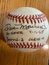 New listing Dave Morehead signed baseball; Red Sox, Royals