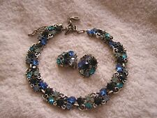 Vintage Lisner Set Earrings and Necklace