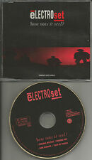 ELECTROSET How Does it feel MIXES & EDIT w/ NEW ORDER trk CD Single USA SELLER