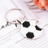 Metal Keyring Cool Soccer Keychain Bottle Opener Car Key Ring Bag Purse Pendant