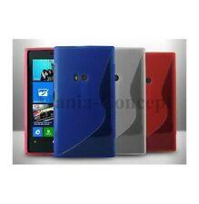 Funda Carcasa Silicona Nokia Lumia 920 TPU Gel S-LINE una Opción