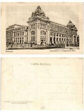 CPA BUCURESTI Hauptpost u. Telegraphen-Amt. ROMANIA (504020)