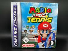 Mario Power Tennis · Nintendo Game Boy Advance · CIB · OVP + Anleitung #3