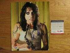 No More Mister Nice Guy ALICE COOPER signed 8x10 Photo PSA / DNA AD65237