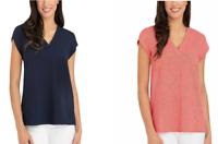 Hilary Radley Ladies' Short Sleeve Blouse Vareity