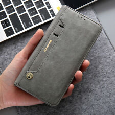 For Samsung Galaxy S7 edge/S8 S9 Plus Detachable Wallet Purse Leather Case Cover