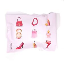1000 Pink Make Up Designer 6 X 9 Mailer Poly Bags Mailing Shipping Plastic Bags