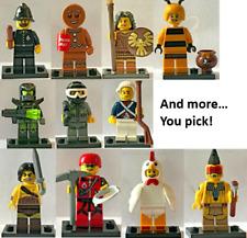 Lego Collectible Minifigures CMF Series 9 10 11 YOU CHOOSE