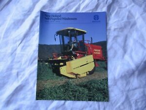 New Holland HW300 HW320 HW340 SP windrower brochure