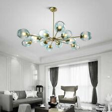 LED glass Ball Living Room Chandelier Bedroom Pendant Light Kitchen Ceiling Lanp