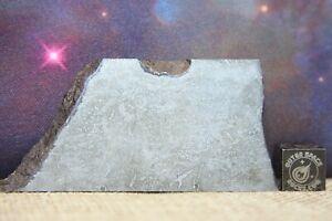Balambala IIF Iron Meteorite 55.7g etched part slice with carbonaceous traits