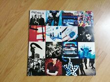 "*RARE* U2 Achtung Baby 12"" VINYL RECORD (UK 1991) 1st Press"