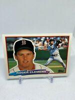 1988 Topps Big #118 Roger Clemens Baseball Card🔥Boston Red Sox