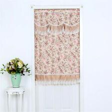 Window Curtain Panel Striped Blackout Curtain Dining Bathroom Drapes HS