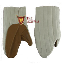 Medieval Thick Padded Gloves Gambeson Cotton Armor Sca Larp