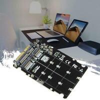 2 in1 M.2 NVMe SATA-Bus NGFF SSD zu PCI-e U.2 SFF-8639 Adapter M2 PCIe Q8A8