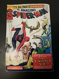 Amazing Spider-Man Annual #1 1st Appearance Sinister Six