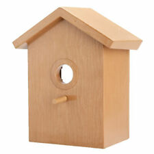 Window Mounted Spy Birdhouse Nesting Box Feeding Nature Bird Wren Watching House