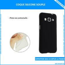 COQUE EN SILICONE SOUPLE POUR SAMSUNG GALAXY S5 (G900) NOIRE