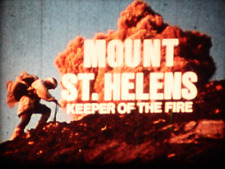 """16mm """"Mount St. Helens Keeper Of The Fire"""" 1980 Doc"""