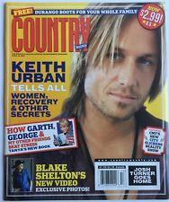 KEITH URBAN TELLS ALL! April 2005 COUNTRY WEEKLY Magazine New BLAKE SHELTON