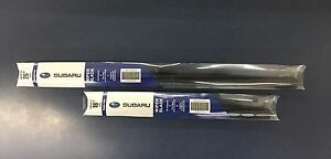2017- 2021 Subaru Impreza Crosstrek Front Windshield Wiper Blade Set Genuine oem
