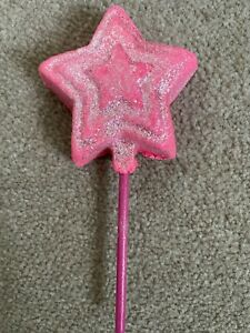 NEW LUSH SNOW FAIRY MAGIC WAND REUSABLE BUBBLE BAR