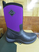 Muck Boots Women's Arctic Weekend Winter Boots Black/Phlox Purple Size 5 M