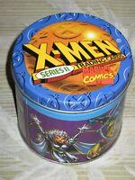 1993 X-MEN SERIES 2 MARVEL COMICS EMPTY TIN JIM LEE WOLVERINE MAGNETO!