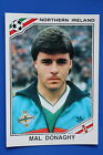Panini WC MEXICO 86 STICKER N. 281 NORTHERN IRELAND DONAGHY VERY GOOD/MINT