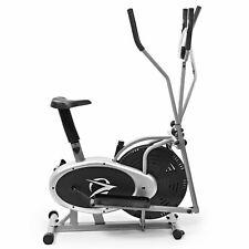 Elliptical Machine Cross Trainer 2 in 1 Exercise Bike Cardio Fitness Home Gym