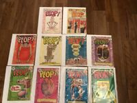 PLOP The NEW Magazine Of WEIRD Humour No. 1,2,3,4,6,7,8,9,10, 21 DC 1973