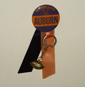 1972 vtg Auburn Tigers Sugar Bowl Souvenir pinback button footbal 1970s pin