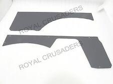 Neuf suzuki samurai gypsy hardtop arrière intérieur porte panneau gris vinyle #G116 (C1122)