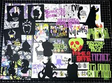 Disney Villains Scrapbook Kit! Project Life, Disney Paper, die cuts, Maleficent