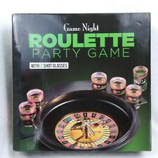 Game Night Roulette Party Adults Drinking Game