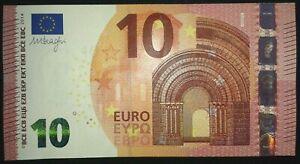 N1 FRANCE 10 Euro 2014, UE-serie UNC, DRAGHI Sign, Printer U002F5