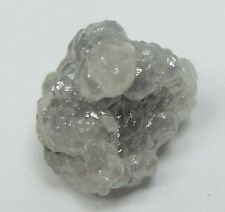 3.14 Carats WHITE/SILVER Natural Uncut Raw ROUGH DIAMONDS