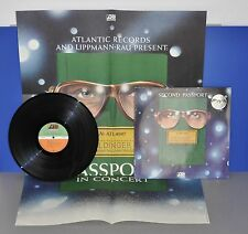 Second Passport German 1st press '72 Atlantic rare Tournee Poster M-/M- Vinyl LP