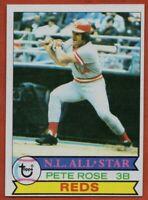 1979 Topps #650 Pete Rose NEAR MINT All-Star Cincinnati Reds FREE SHIPPING
