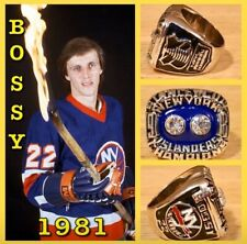 New York Islanders Mike Bossy 1981 Championship Ring Size 11
