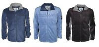 Mens Greenland Full Zip Warm Polar Fleece Jacket Anti Pill Work Winter Coat New