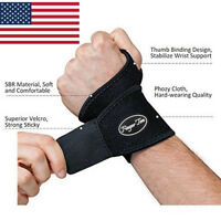 Wrist Brace Carpal Tunnel Support Fit Left Right Hand Adjustable Golf Tennis