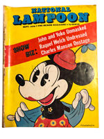 National Lampoon Mag FIRST YEAR Sept 1970 - RARE! Controversial Minnie Mouse