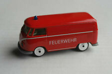 Majorette VW Volkswagen Bus T1 Kasten rot FEUERWEHR Oldtimer Fire Department Van
