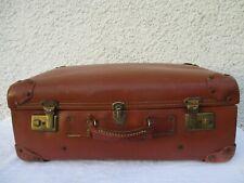 Ancienne valise couleur marron vintage années 1950/60'S